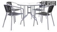 Комплект мебели XRB-042B-D90 Black (4+1)