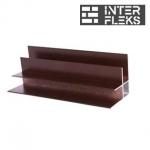 Профиль алюминиевый для фасадной доски (угол внутренний)