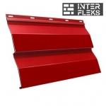 Металлический сайдинг GL Корабельная доска RAL 3011 коричнево-красный (Grand Line)