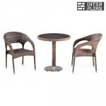 Комплект мебели из иск. ротанга T501DG/Y90CG-W1289 Pale (2+1)