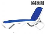 Шезлонг Nardi Omega Blue
