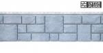 Фасадная и цокольная панель Я-Фасад Екатерининский камень графит