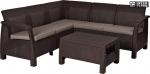 Комплект уличной мебели Keter Corfu Relax Set