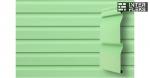 Виниловый сайдинг GL Корабельная доска Слим 3,0 D4 салатовый