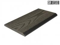 Торцевая планка Ай-Техпласт серый 11х118