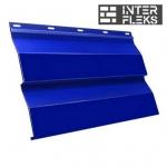 Металлический сайдинг GL Корабельная доска RAL 5002 ультрамариново-синий (Grand Line)