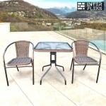 Комплект мебели Асоль-2A TLH-037A/073A-60х60 Cappuccino (2+1)