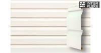 Виниловый сайдинг GL Корабельная доска 3,6 D4,4 белый