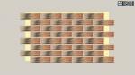 Фасадная термопанель Termosit с клинкерной плиткой Cerrad Alaska Rustic 9652