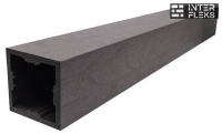 Столб Woodvex графит 100х100