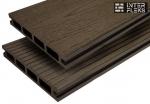 Террасная доска WOODVEX Select темно-коричневый 146х22