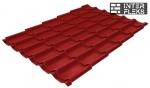 Металлочерепица Grand Line Modern RAL 3011 коричнево-красный