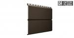 Металлический сайдинг GL ЭкоБрус RR 32 темно-коричневый (Grand Line)
