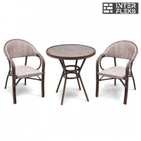 Набор мебели A1007/D2003-AD64 Cappuccino (2+1)