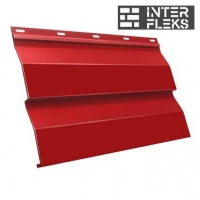 Металлический сайдинг GL Корабельная доска RAL 3003 рубиново-красный (Grand Line)