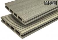Террасная доска WOODVEX Select Colorite Серый дым 146х22