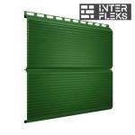 Металлический сайдинг GL ЭкоБрус Gofr RAL 6002 лиственно-зеленый (Grand Line)