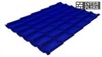 Металлочерепица Grand Line Classic RAL 5002 ультрамариново-синий