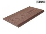 Торцевая планка Ай-Техпласт какао 11х118