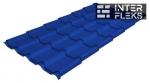 Металлочерепица Grand Line Kamea RAL 5002 ультрамариново-синий