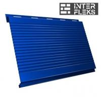 Металлический сайдинг GL Вертикаль gofr RAL 5005 сигнальный синий (Grand Line)