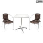 Комплект мебели  LFT-3099B/T3125-60x60 Brown (2+1)
