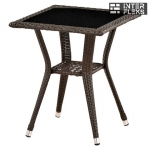 Стол из иск. ротанга T25-W51-50x50 Brown