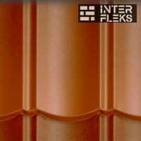 Металлочерепица Evertile Evertech Terracotta Rustiq 05/04
