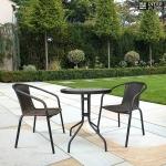 Комплект мебели Асоль-LRC LRC04/LRT07-D60 Dark Brown (2+1)
