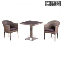 Комплект мебели из иск. ротанга T502DG/Y350G-W1289 Pale (2+1)