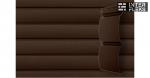 Виниловый сайдинг GL Блок-хаус 3,0 D4,8 темный дуб (АСА)