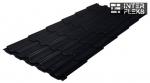Металлочерепица Grand Line Kvinta Plus RAL 9005 черный