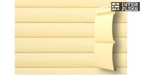 Виниловый сайдинг GL Блок-хаус 3,0 D4,8 ванильный