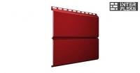 Металлический сайдинг GL ЭкоБрус RAL 3011 коричнево-красный (Grand Line)