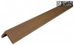 L-планка WOODVEX Colorite палисандр 40х40
