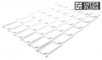 Металлочерепица Grand Line Modern RAL 9003 сигнальный белый