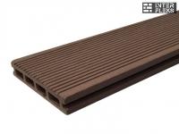 Террасная доска Ай-Техпласт шоколад 22х140