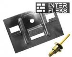 Кляммер для Cedral Click с заклепкой по металлу
