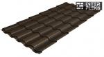 Металлочерепица Grand Line Kredo RR 32 темно-коричневый