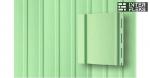 Виниловый сайдинг GL вертикальный 3,0 S6,3 салатовый