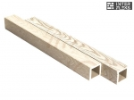 Балясина Sequoia Evolution 3D WOOD WHITE