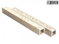Балясина Sequoia Evolution 3D WOOD WHITE