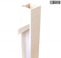 Столб Woodvex сакура 120х120