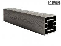 Столб Polivan черный 120х120