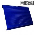 Металлический сайдинг GL Вертикаль gofr RAL 5002 ультрамариново-синий (Grand Line)