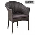 Кресло из иск. ротанга Y350W-W2390 Brown