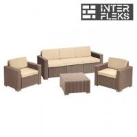 Комплект уличной мебели Keter California 3 Seater
