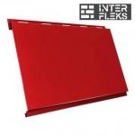 Металлический сайдинг GL Вертикаль classic RAL 3003 рубиново-красный (Grand Line)
