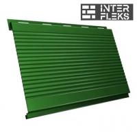 Металлический сайдинг GL Вертикаль gofr RAL 6002 лиственно-зеленый (Grand Line)