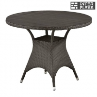 Стол из иск. ротанга T190AD-W52-D96 Brown (декинг)
